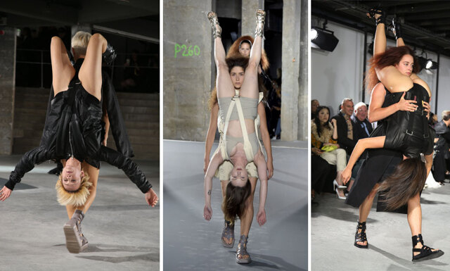 Rick Owens stod för den galnaste visningen under Paris Fashion Week