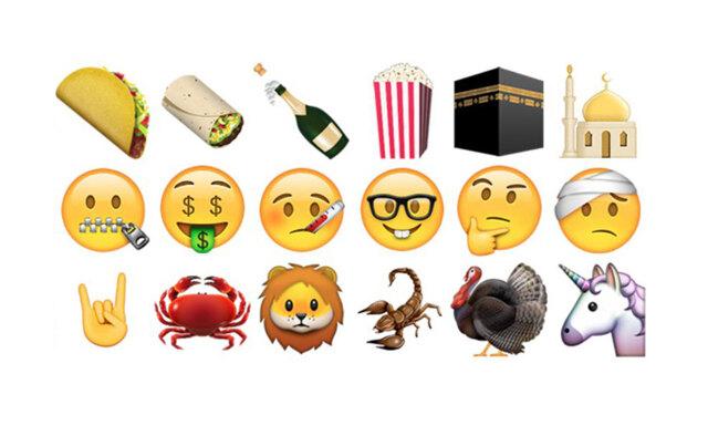 Släpp allt! De nya emojisarna är här