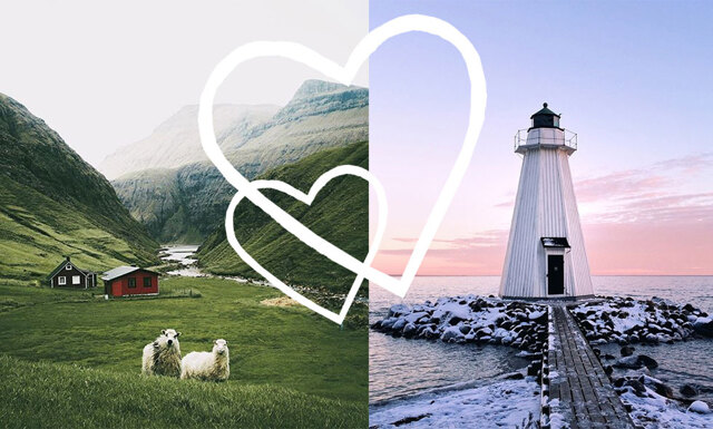 Åtta Instagramkonton som triggar wanderlusten