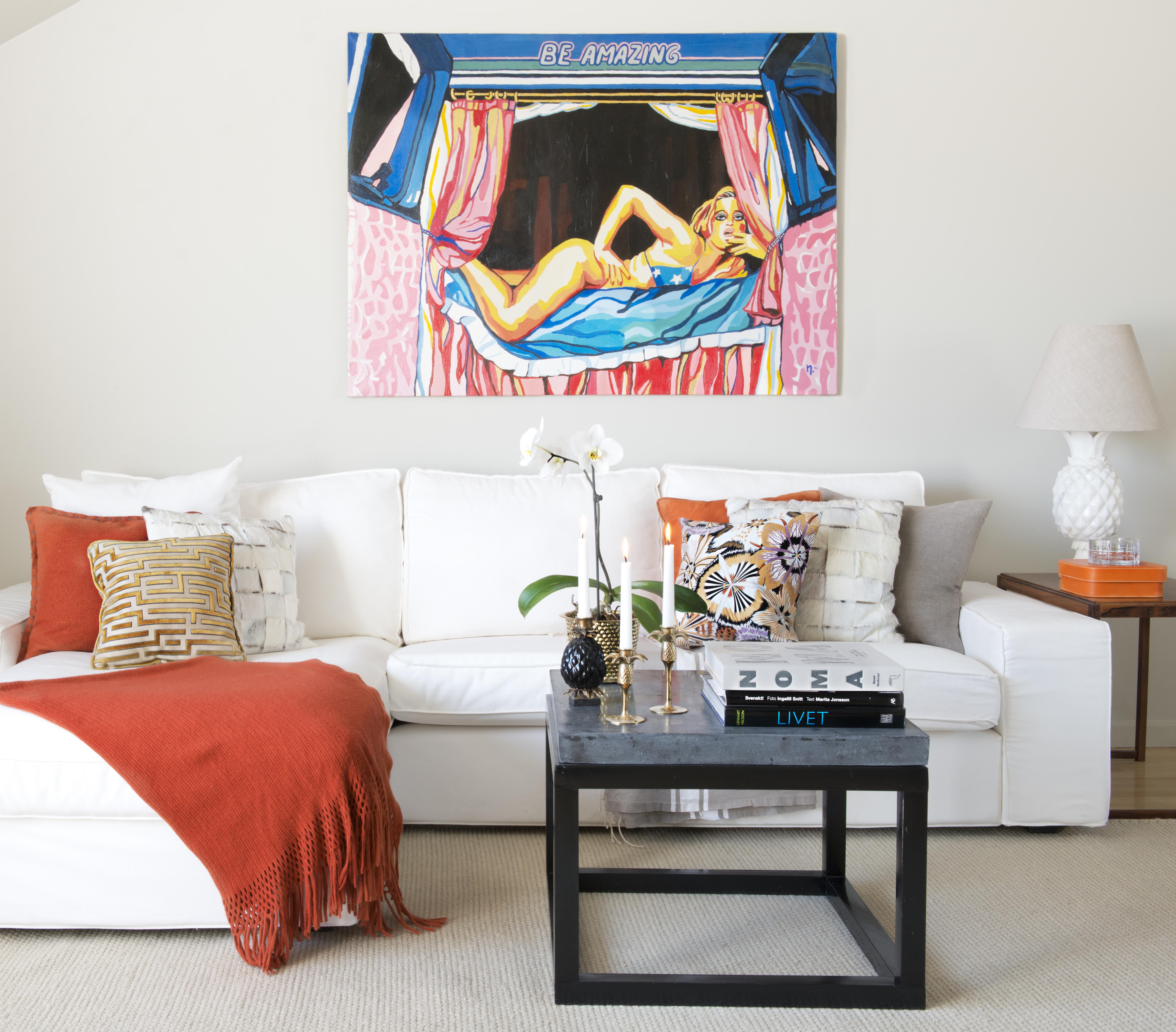 Styla om din soffa Andrea Brodin