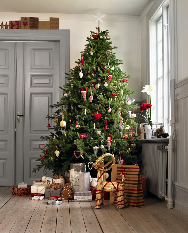 klä ut sig till julgran