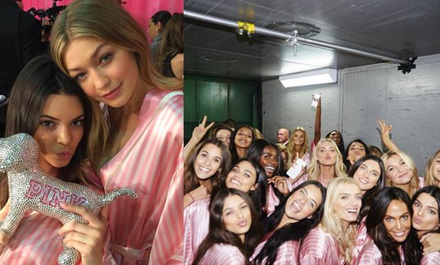 De bästa Instagram-bilderna från Victoria's Secret Fashion Show 2015