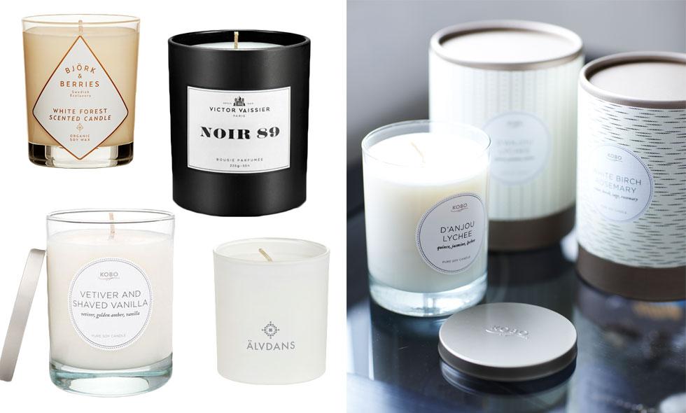 5 fina och härliga doftljus som vi älskar