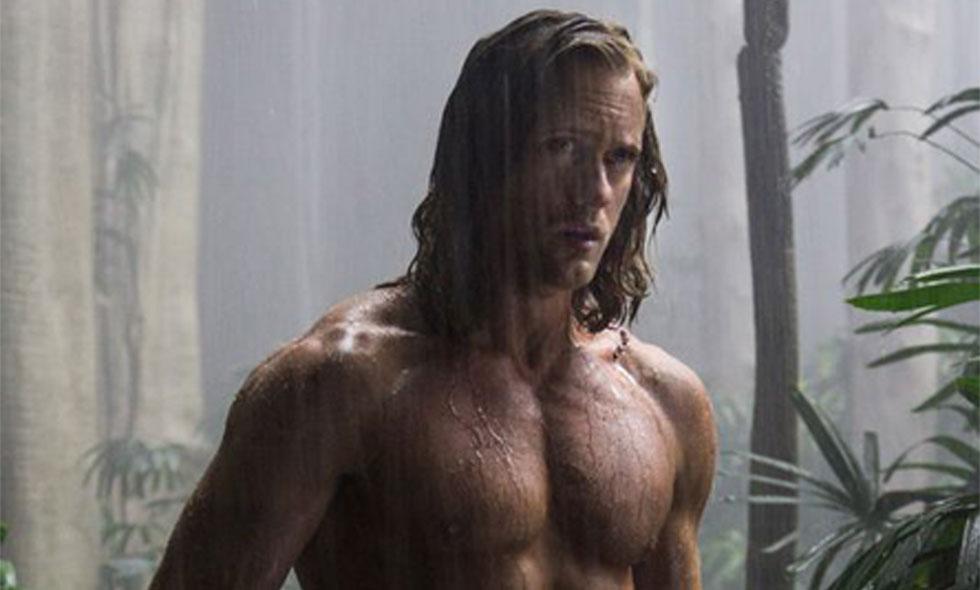 Alexander Skarsgård visar upp sin nya superkropp som Tarzan