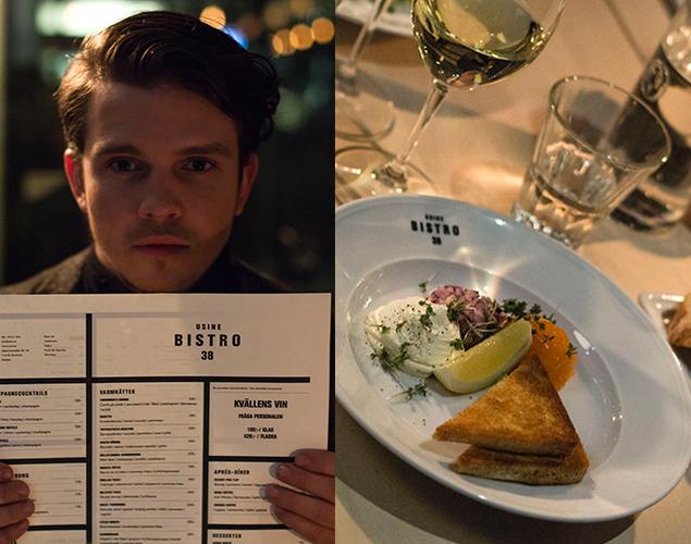 Charlie Lindström testar Usine Bistro 38:
