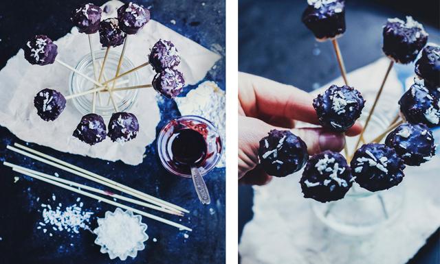 Superenkelt julgodis: Kokostoppar med chokladöverdrag