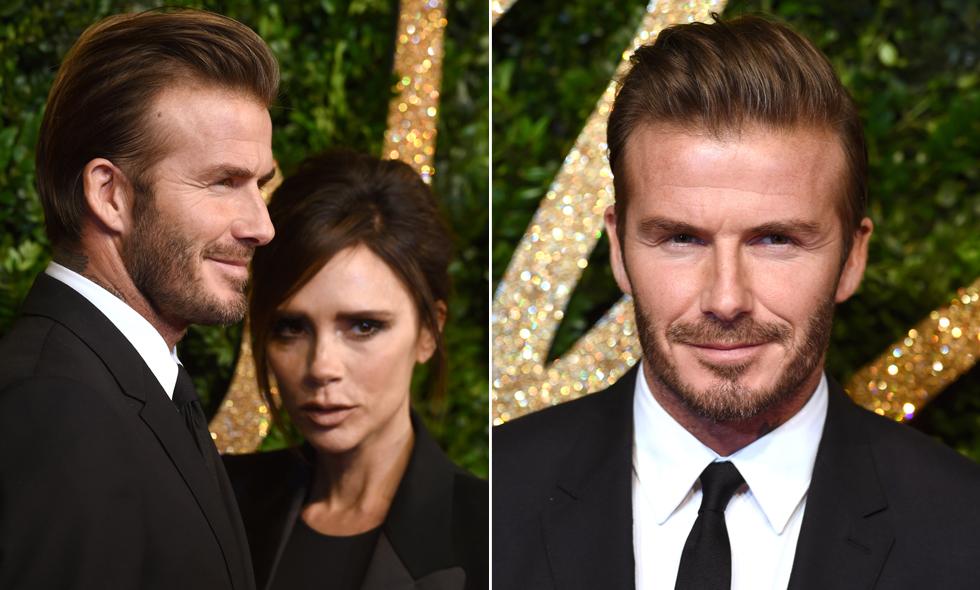 Herrfrisyrer 2015 David Beckham