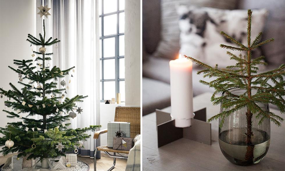 10 vackraste granarna att inspireras av julen 2015