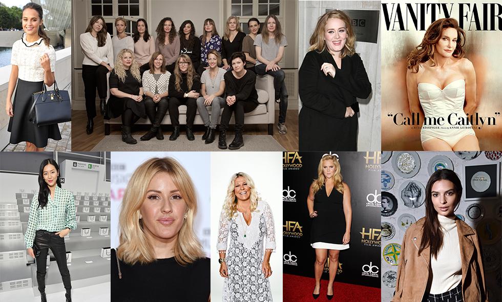 30 superkvinnor som inspirerade oss under 2015