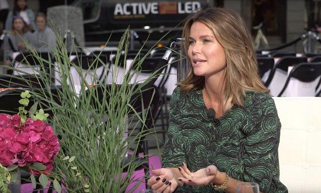 """""""Det är viktigt att ha sin egen stil"""" Valerie Aflalo live i Fashion Talks"""