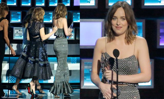 Dakota Johnsons klänning gick sönder – och hennes svar fick hela publiken att jubla