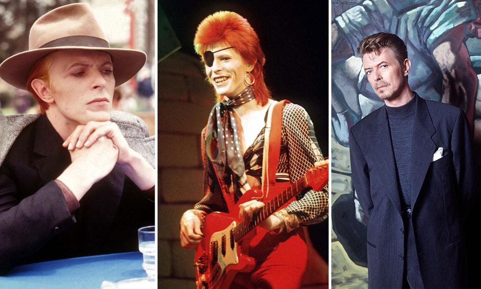 Så minns vi David Bowie – 11 ikoniska looks