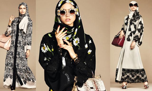 Dolce & Gabbana lanserar sin första hijab och abaya-kollektion