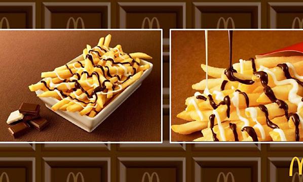 McDonalds lanserar chokladtäckta pommes – men det finns en hake...