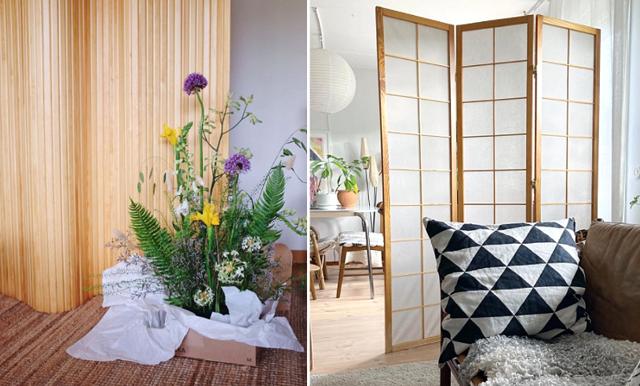 Möbeln som skapar rum i rummet! 8 vackra skärmväggar