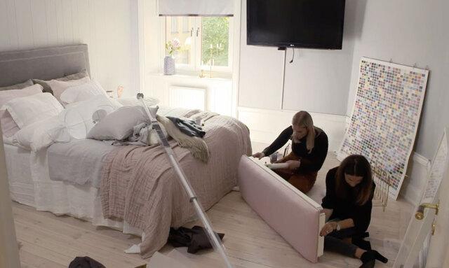 Lyxig hotellkänsla i sovrummet – Petra & Sanna #stylarhem