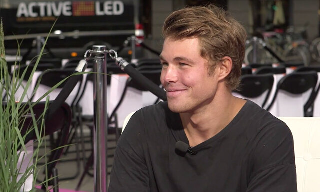 """Nej, det var hon som var min crush!"" Andreas Wijk live i Fashion Talks"