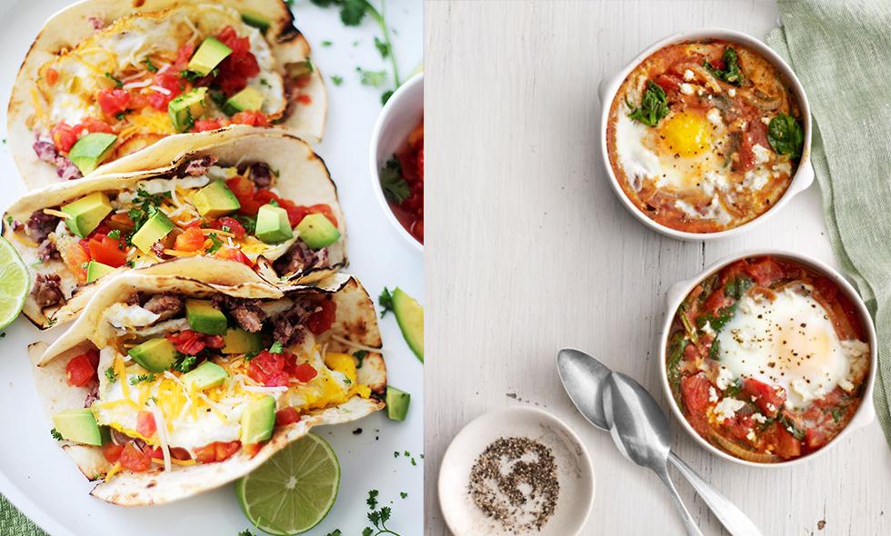 7 riktigt goda, nyttiga och enkla recept som du kan göra med ägg