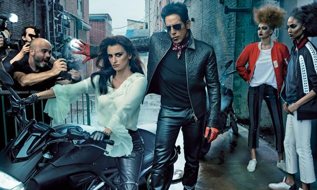 Snart biopremiär – Derek Zoolander på omslaget av Vogue