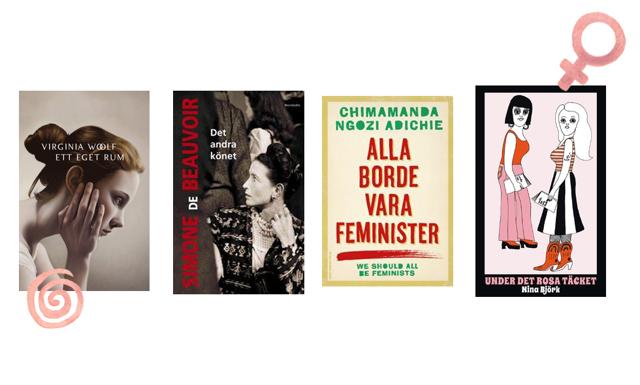 5 feministiska böcker du måste läsa