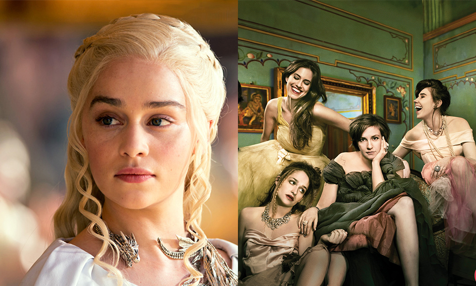 girls game of thrones tv-serie puff