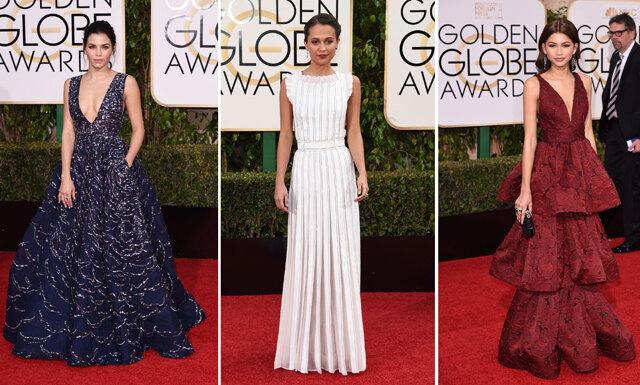 Vilken stjärnglans! Här är de vackraste klänningarna på årets Golden Globe