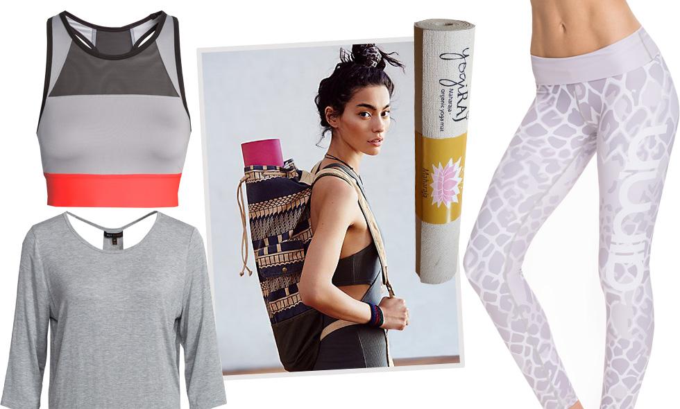 Snyggaste yogakläderna vi drömmer om våren 2016