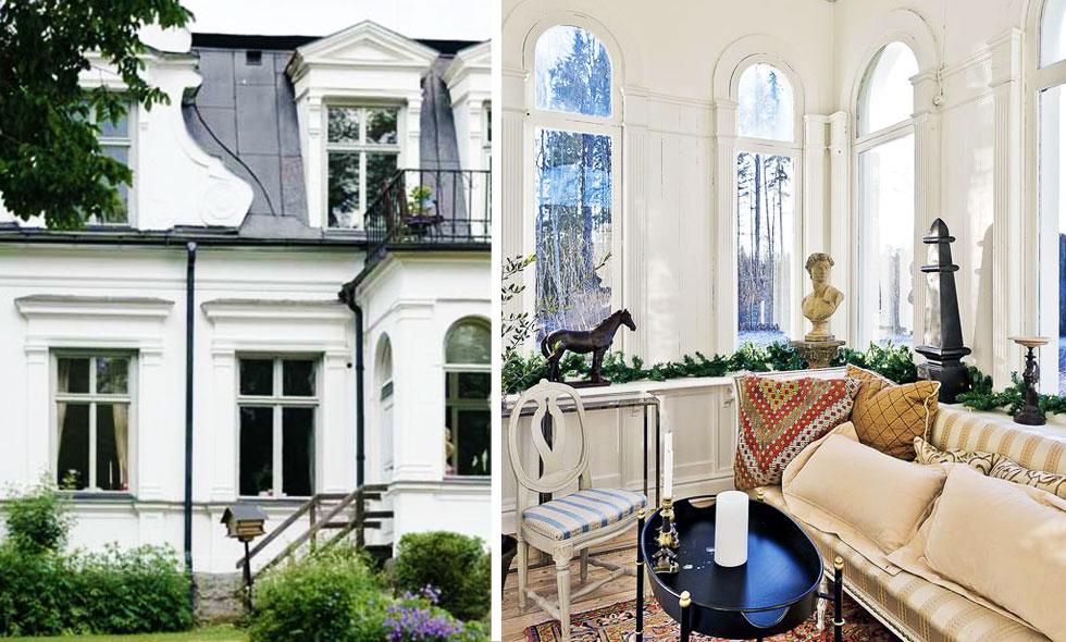 Kolla in detta fantastiska hus i Uppsala – rena prinsessdrömmen