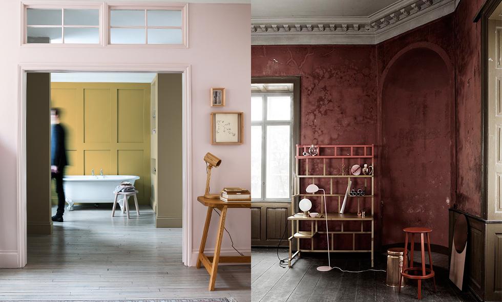 Sätt färg på väggarna och ge ditt hem en helt ny look