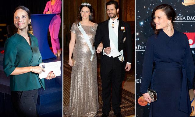 Prinsessan Sofias träffsäkra gravidstil – se hennes 7 vackraste outfits