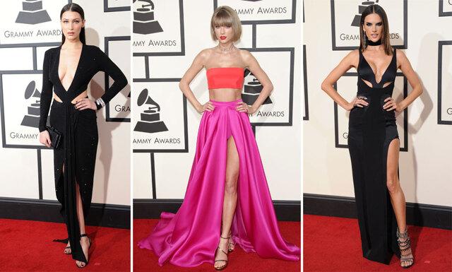 Här är klänningarna som stack ut mest på Grammy-galan 2016