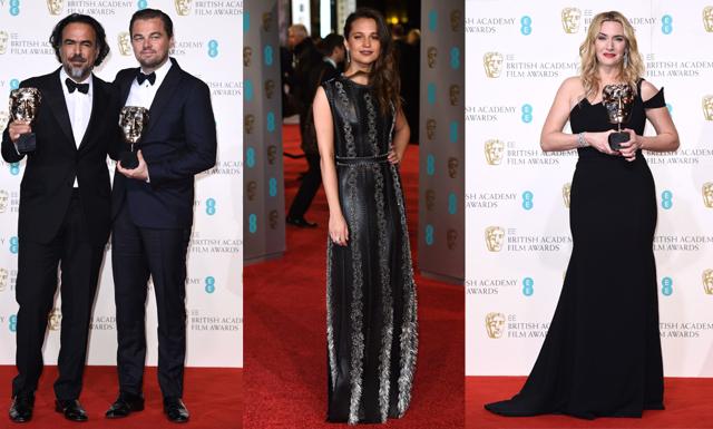 Vinnarna och bästa klänningarna från BAFTA-galan
