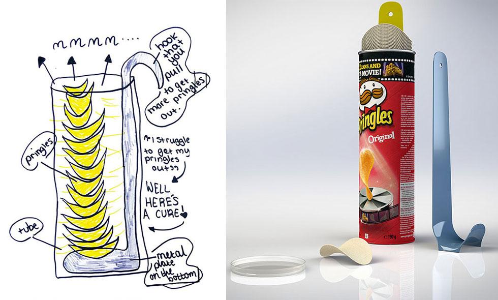 6 fantastiska barnteckningar som blivit riktiga uppfinningar