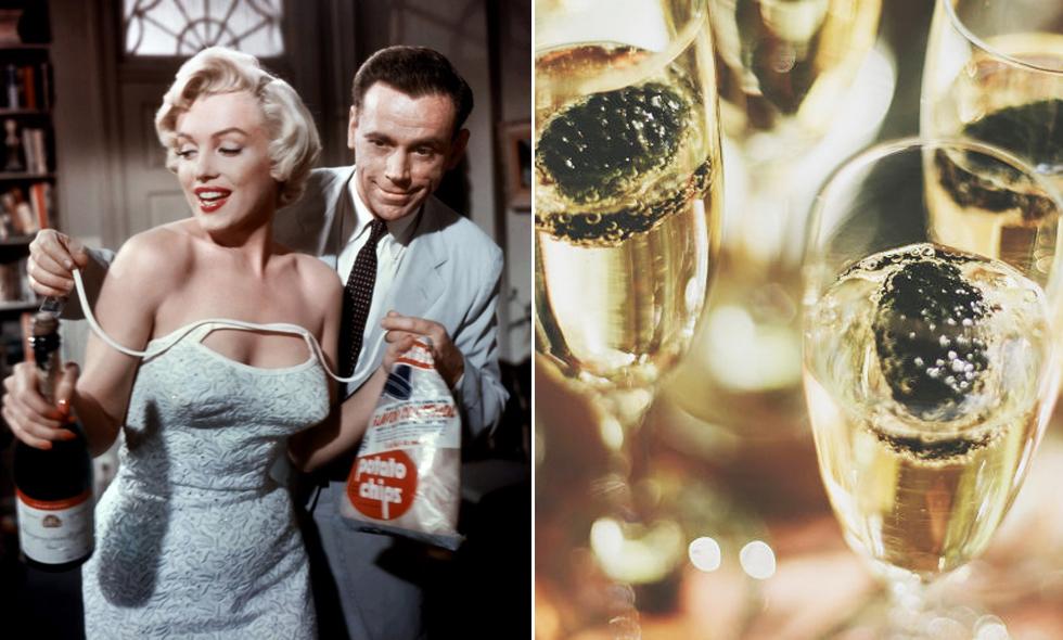 Champagnedieten trendigare än någonsin
