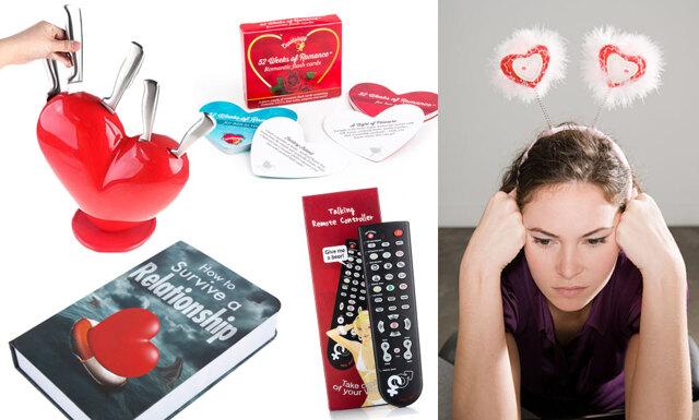 11 Alla hjärtans dag-presenter som vi verkligen inte vill ha