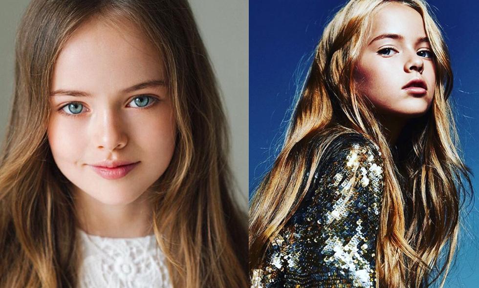 """L.A Models signar """"Världens vackraste 10-åring"""" Kristina Pimenova"""
