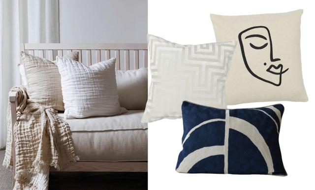 12 snygga kuddar att pynta soffan med i vår