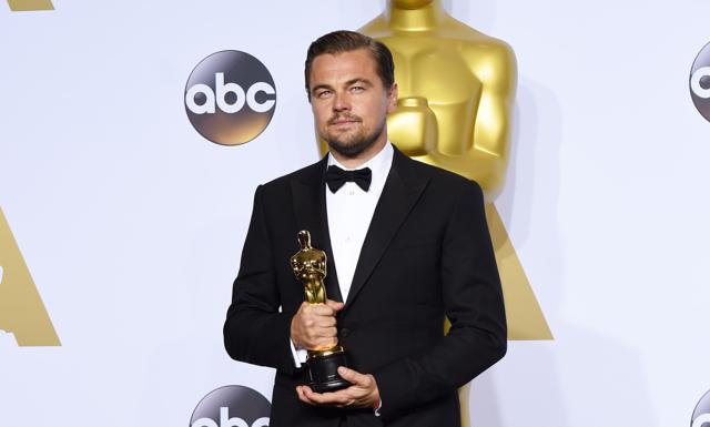 Det var på tiden! Äntligen fick Leo sin efterlängtade Oscar