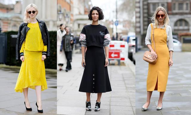 12 snygga street style outfits från London Fashion Week 2016
