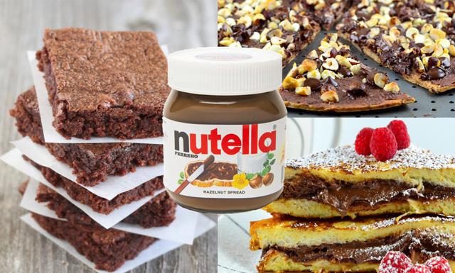 Nutelladagen – 5 enkla recept för att hylla den goda hasselnötskrämen