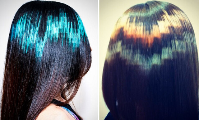 Glöm mermaid hair - i vår är det pixelhår som gäller