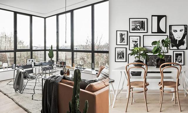 Unikt hem med panoramavy över Stockholm – fönstren vi alla drömt om