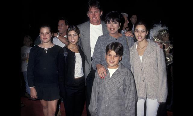 Familjen Kardashian-Jenner har inte alltid sett ut som de gör idag