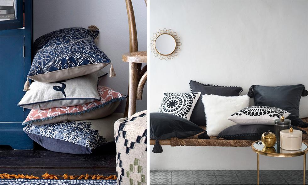 12 snygga kuddar att pynta soffan med våren 2016