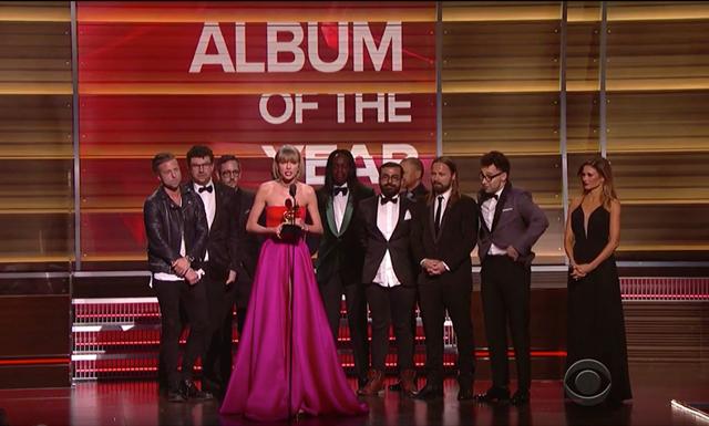 Kändisbråket fortsatte under Grammy-galan