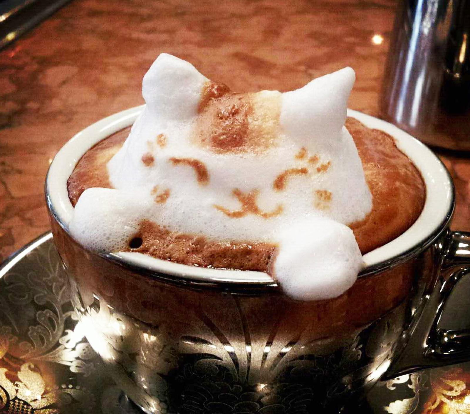 skummad kaffe