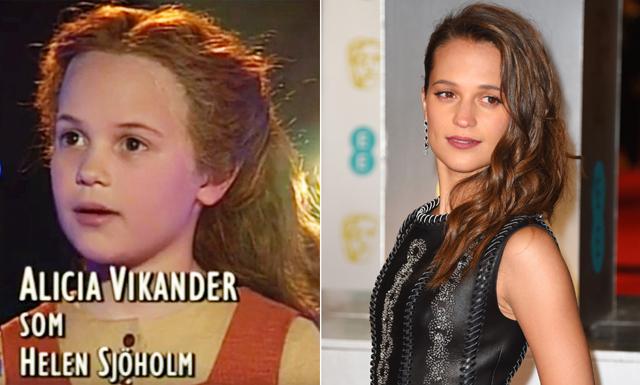 Veckans (gulligaste) klipp på Oscarsnominerade Alicia Vikander