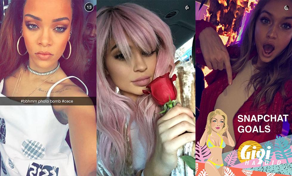 11 roliga kändisar du borde följa på Snapchat för att få ett gott skratt