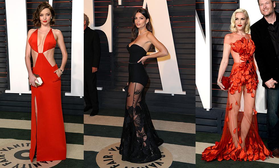 14 kändisar med de vackraste klänningarna på Oscarsgalans Vanity Fair-efterfest 2016
