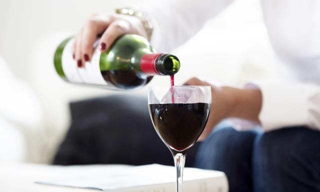Supermaten (och vinet) som motsvarar ett svettigt gympass